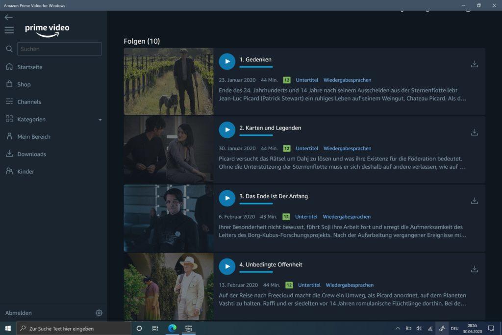 Prime Video Windows 10