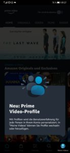 Amazon Prime Video Profile erstellen