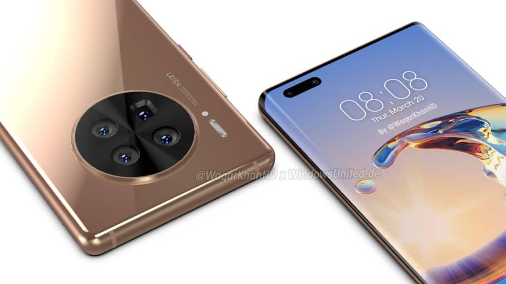 Huawei Mate 40 Pro Bilder, Infos, Daten, Leak