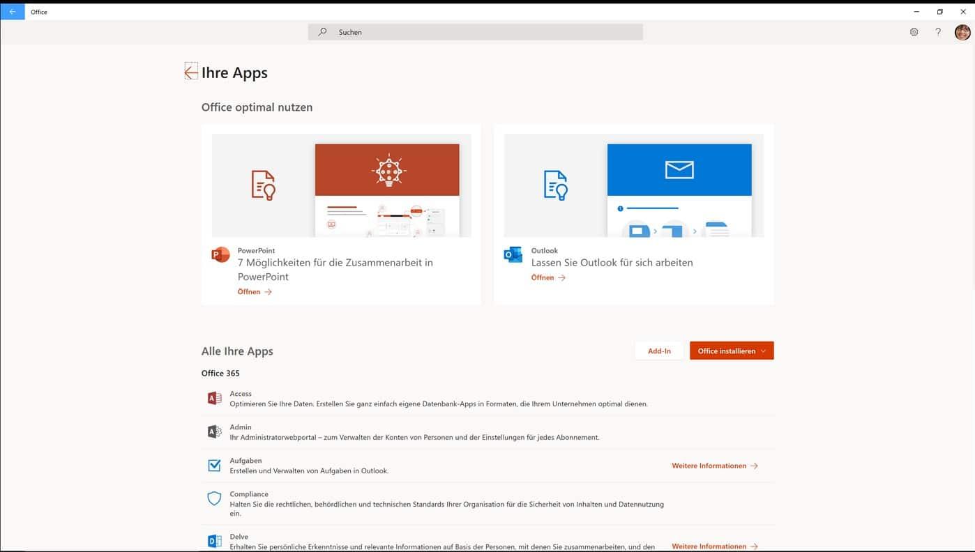 Microsoft Office 365 Login Anleitung
