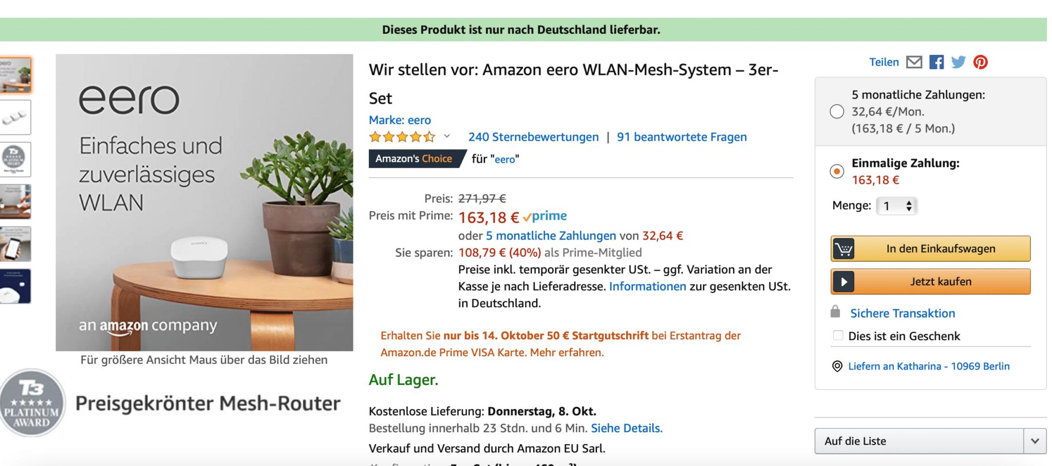 Amazon Prime Day 2020 Angebote