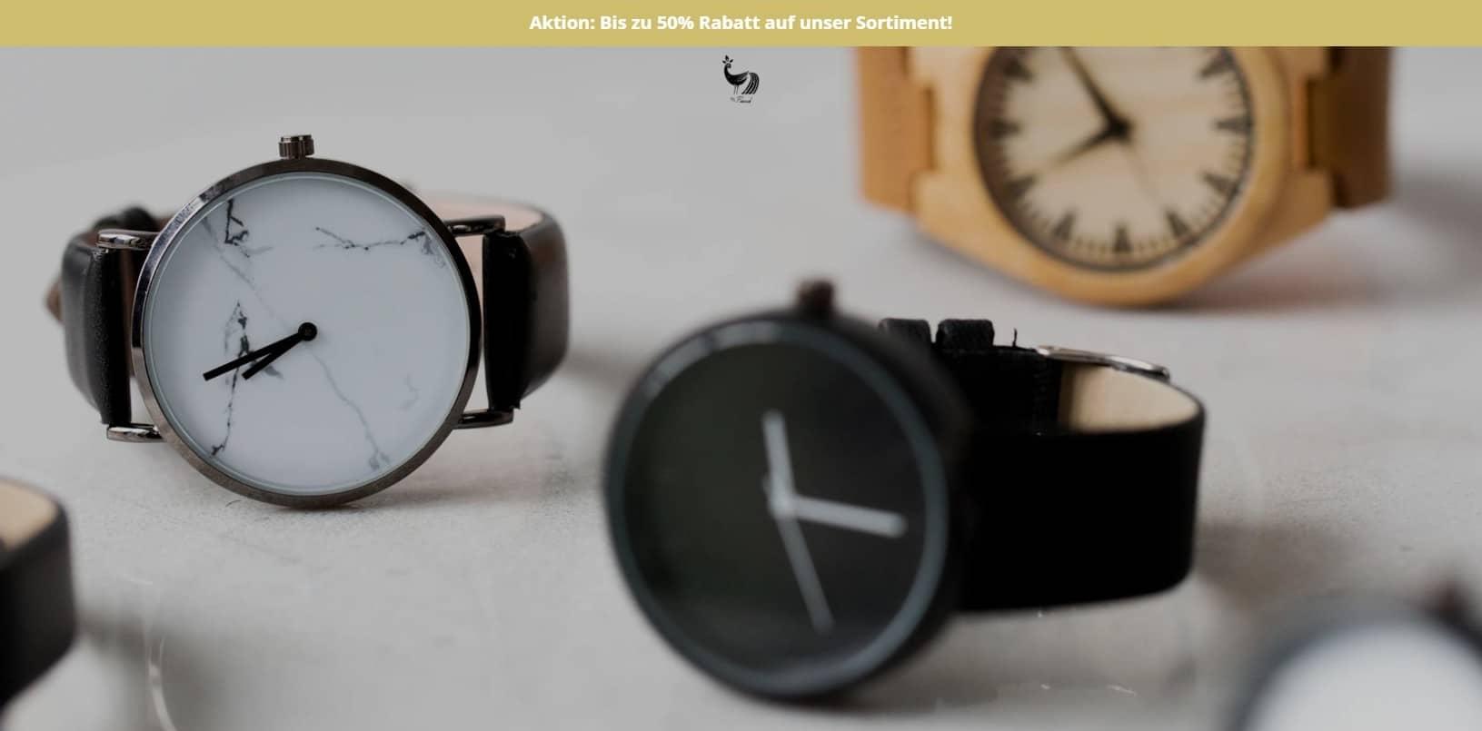 Misterpeacock.de Uhrenshop