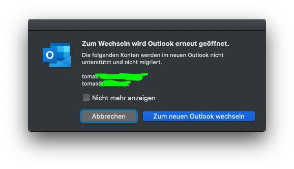 Outlook für Mac neue Version offiziell erschienen