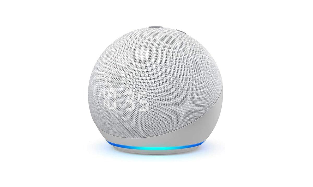 Echo Dot (4.Gen) Uhr