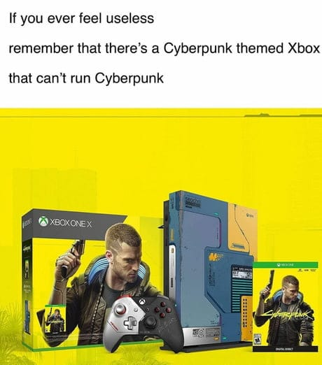 Cyberpunk Xbox Useless