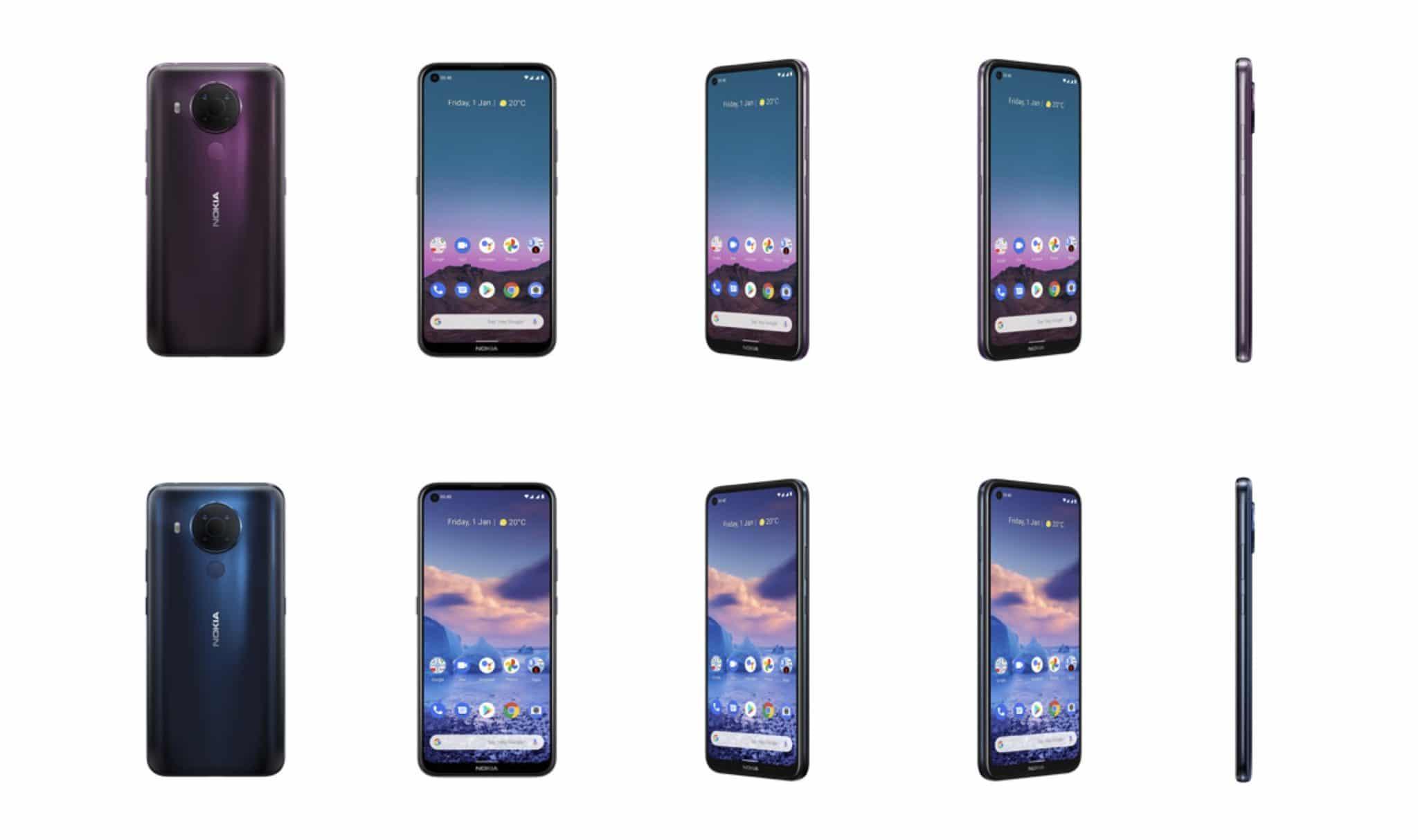 Nokia 5.4 Ansichten