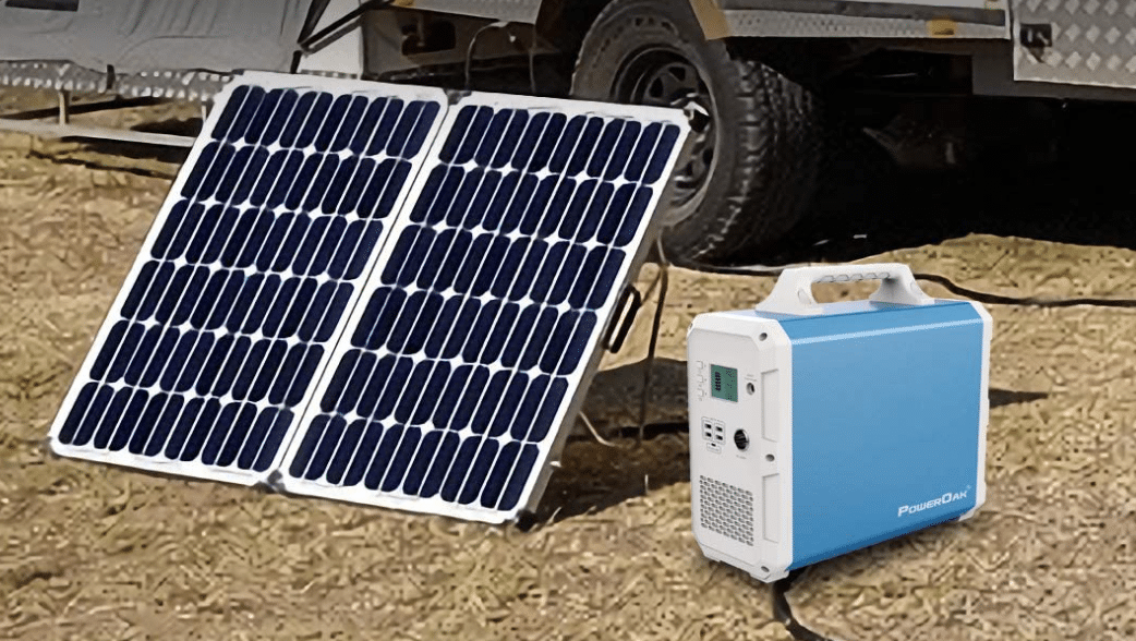 Solar-Kraftwerk Backup Strom